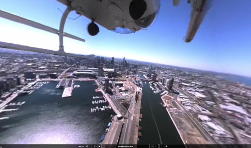 vue helico 360 degres
