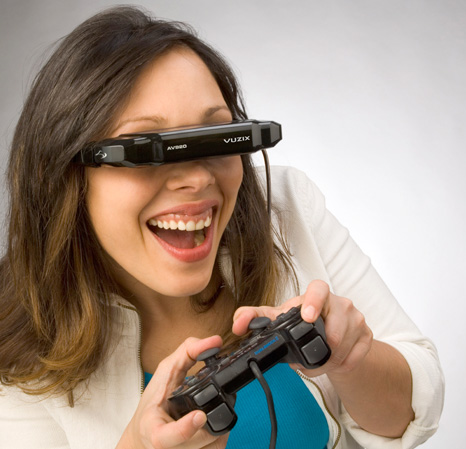 lunettes multimédia iWear de Vuzix