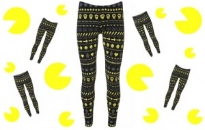 leggings pac man