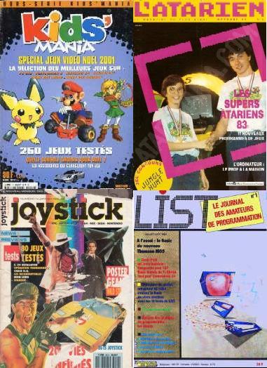 vieux magazines geek