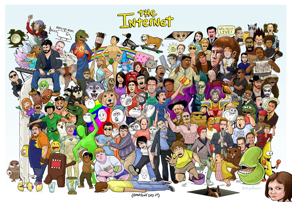 internet personnages